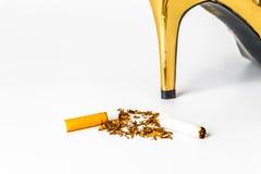 世界无烟草日 免版税库存照片