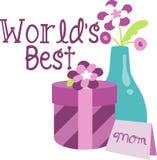 世界最佳的妈妈 免版税库存图片
