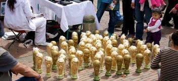 世界杯战利品 免版税库存照片