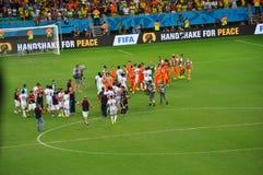 世界杯足球赛2014年 库存图片