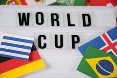 世界杯 免版税库存图片