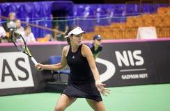世界没有6网球员安娜・伊万诺维奇 免版税图库摄影