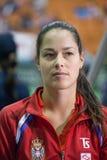 世界没有6网球员安娜・伊万诺维奇 库存图片