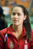 世界没有6网球员安娜・伊万诺维奇 图库摄影