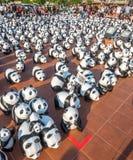世界游览1600熊猫在曼谷 免版税库存照片