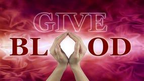 世界献血者天6月14日 库存图片