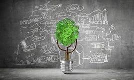 世界生态的企业创新 免版税库存图片