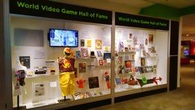 世界电子游戏名人堂 库存照片