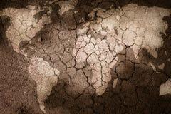 世界的地图 免版税库存图片