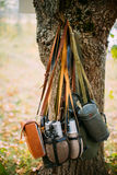 世界的德国人Wehrmacht步兵战士` s军用设备 库存照片