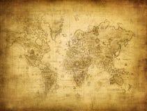世界的映射 库存图片