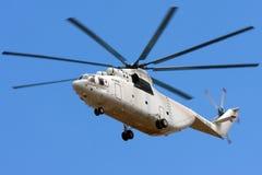 世界的最大和最重的直升机 库存图片