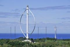 世界的最大的垂直的轴风轮机