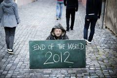 世界的末端 图库摄影