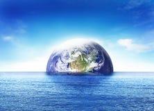 世界的末端 库存图片