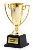 世界的第1奖励 免版税库存照片