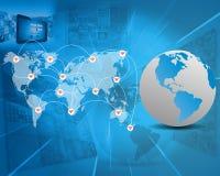世界的连接 免版税图库摄影