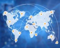 世界的连接 免版税库存图片