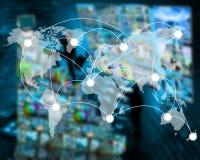 世界的连接 免版税库存照片
