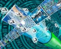 世界的连接 库存照片