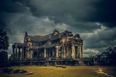 世界的7奇迹之一-吴哥窟-在暹粒-柬埔寨附近的联合国科教文组织世界遗产名录站点 图库摄影