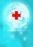 世界红十字会天 免版税库存图片