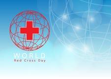 世界红十字会天 库存照片