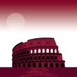 7世界罗马剧院的奇迹 库存例证