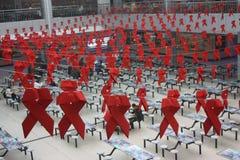 世界艾滋病日 库存图片