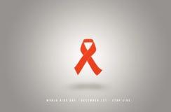 世界艾滋病日 12月1日 库存图片