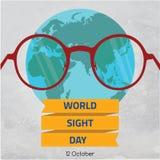 世界视域天, 10月 免版税库存照片