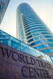 世界贸易中心在科伦坡,斯里南卡 图库摄影