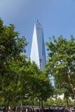 世界贸易中心复杂和一个世界中心大厦,纽约 免版税库存图片