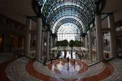 世界贸易中心,大厦,庄园,大厅,建筑学 库存图片