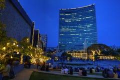 世界贸易中心,班格洛,印度 图库摄影