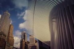 世界贸易中心Oculusï ¼ Œ NewYorkYork的建筑学 免版税库存图片