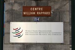 世界贸易组织 图库摄影