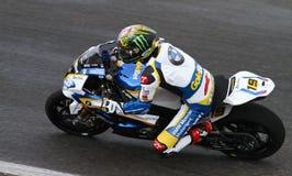 世界超级摩托车冠军 免版税库存照片
