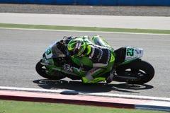 世界超级摩托车冠军 库存图片