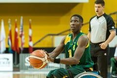 世界轮椅篮球冠军 免版税库存图片