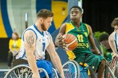 世界轮椅篮球冠军 库存图片