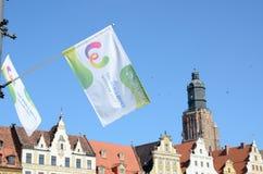 世界运动会2017年在弗罗茨瓦夫,波兰 免版税图库摄影