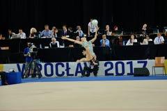世界运动会2017年在弗罗茨瓦夫,波兰 库存照片