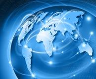 世界连接 免版税库存图片