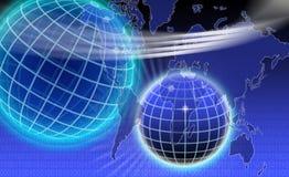 世界通信 免版税库存照片