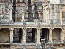 世界遗产rani ki vav印度 免版税库存图片