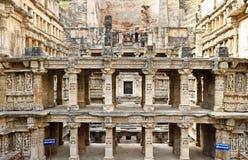 世界遗产rani ki vav印度 免版税图库摄影