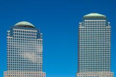 世界金融中心 库存照片