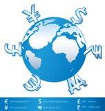 世界金钱 图库摄影