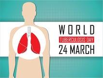 世界防治结核病日 免版税库存照片